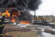 Gas Explosion: Nigerians lament as multiple lives lost, houses, cars razed at Ajao Estate (Disturbing images)