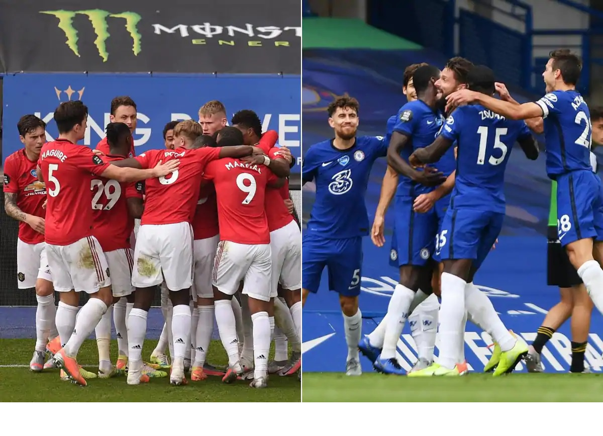Chelsea, United qualify for Champions League, Watford, Bournemouth relegated