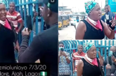 Kemi Olunloyo clashes with SARS officials in Lagos