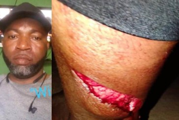 Police Officer on the run after bloody attack on wife