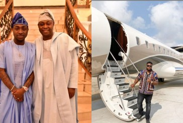 Adedeji Adeleke, Davido's father acquires another private jet