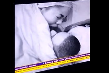 BBNaija: Erica, KiddWaya get intimate (Video)