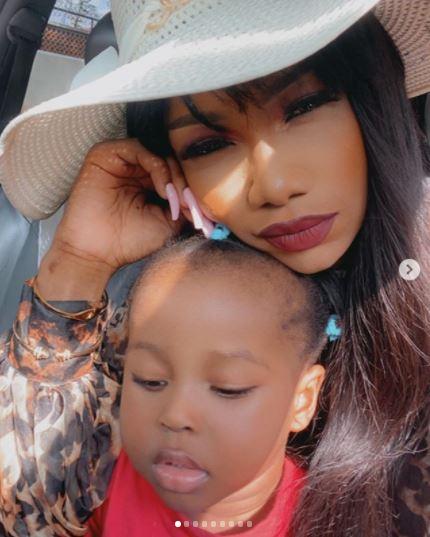 Tacha Daughter Kimberly Akide age