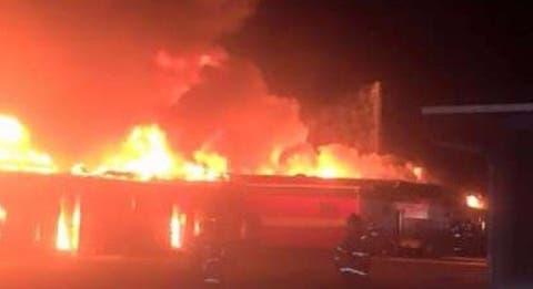 Lagos: Early morning gas tanker explosion rocks Baruwa suburb