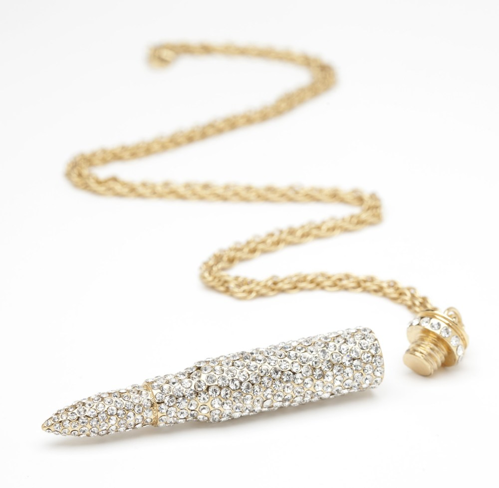 Fall Trend #9: Bullet Necklaces  (4/6)