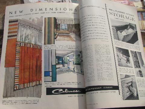 American Home magazines lot vintage 1956-57 mid-century ...