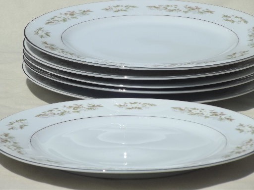Fine China Japan for International Silver 326 Springtime dinner plates