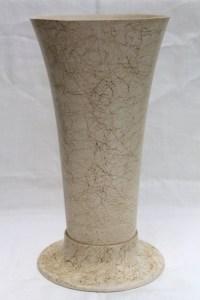 Mid-century modern vintage floor vase, big mod spaghetti ...