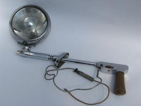 Retro vintage chrome spotlight BLC sealed spot automotive