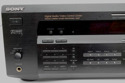 Sony Digital Audio Video Control Center Dolby Cinema Sound Processing Unit
