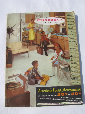 fingerhut kitchen fisher price loving family vintage 1960 mail-order department store catalog ...