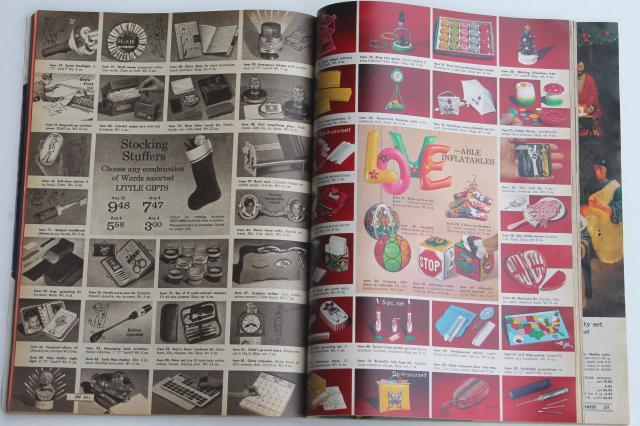 vintage Montgomery Wards Christmas wish book catalog 1970