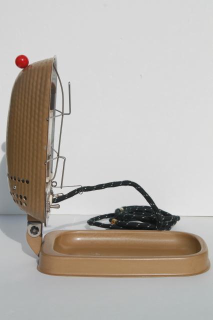 vintage Sperti P103 sunlamp, 1950s machine age portable UV