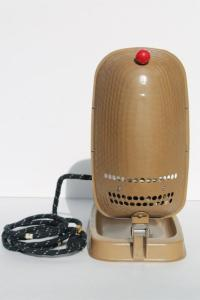 vintage Sperti P103 sunlamp, 1950s machine age portable UV
