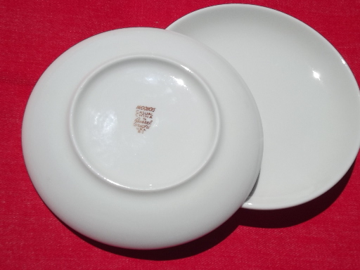 Vintage Russel Wright Iroquois Casual China 8 white