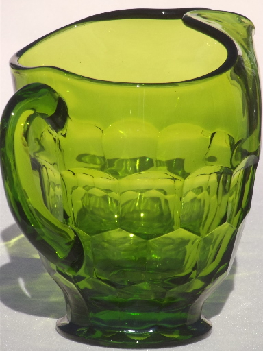 Decanter Mid Century Modern Green Sets