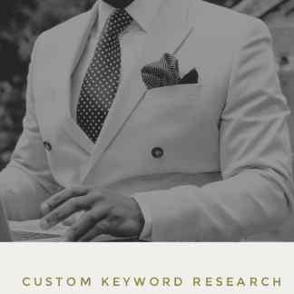Custom Keyword Research