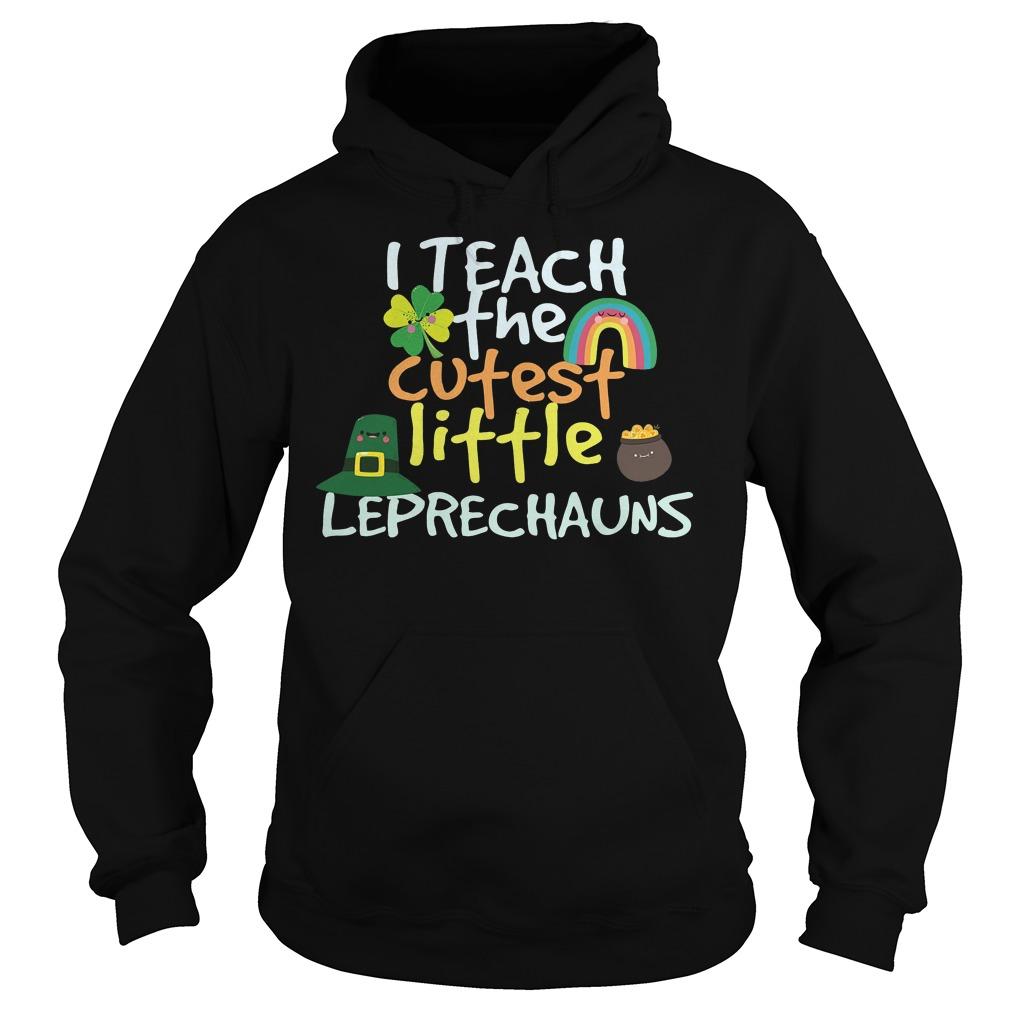 I Teach Cutest Little Leprechauns Shirt 2