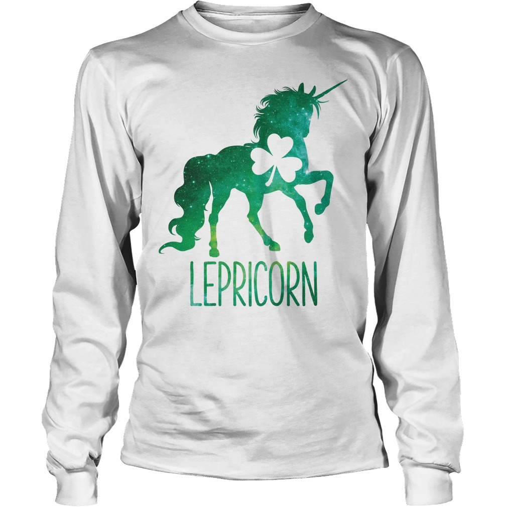 Lepricorn Leprechaun Unicorn Longsleeve