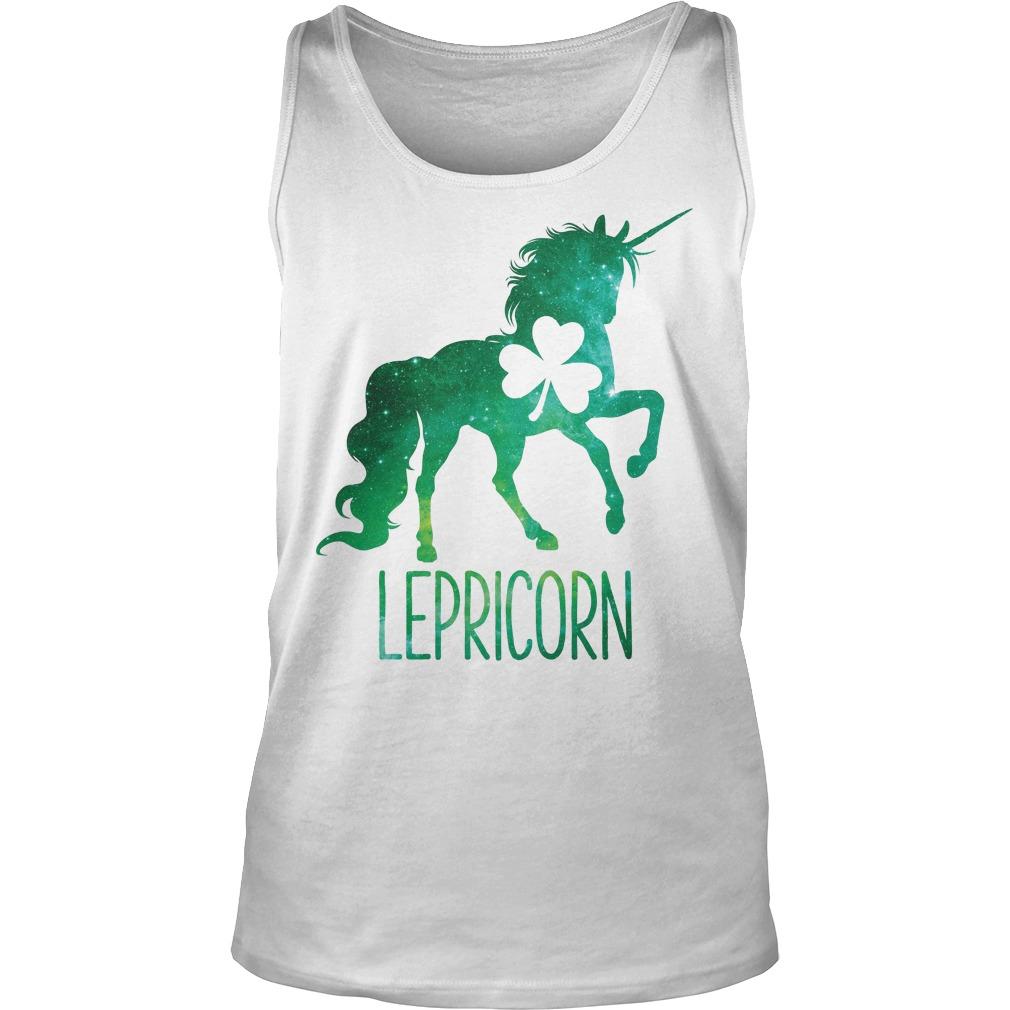 Lepricorn Leprechaun Unicorn Tanktop