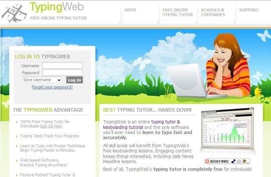 typing-web