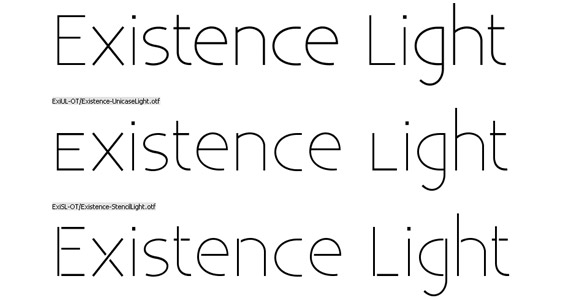 existence-light-free-high-quality-font-for-download