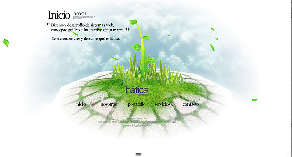 hatica-3d-flash-inspiration-webdesign