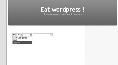 how to implement ajax in wordpress themes