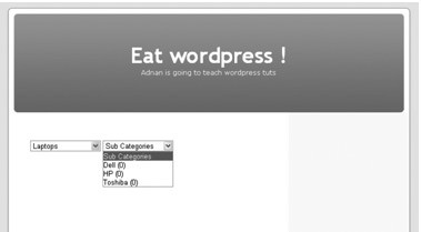 ajax implementation in wordpress themes