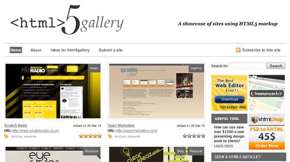 Gallery-html5-css3-tools-generators