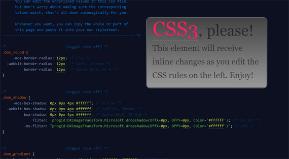 Please-css3-tools-generators