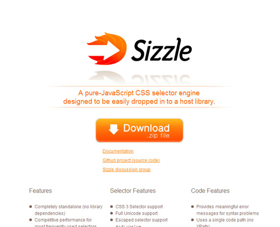 Sizzle-css3-tools-generators