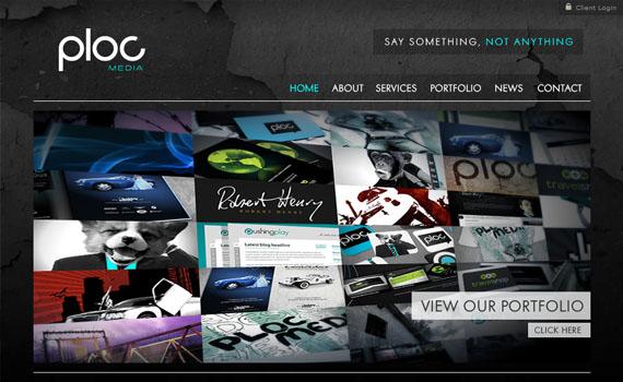 Ploc-media-looking-textured-websites