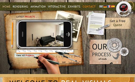 Real-visuals-good-looking-textured-websites