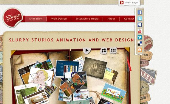 Slurpy-studios-looking-textured-websites