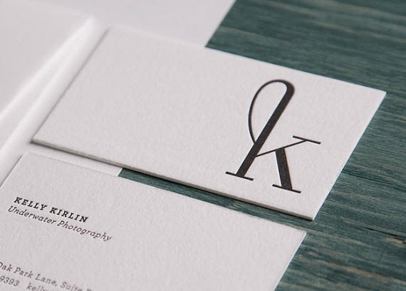 creative minimal business card design inspiration kelly-minimal-business-cards