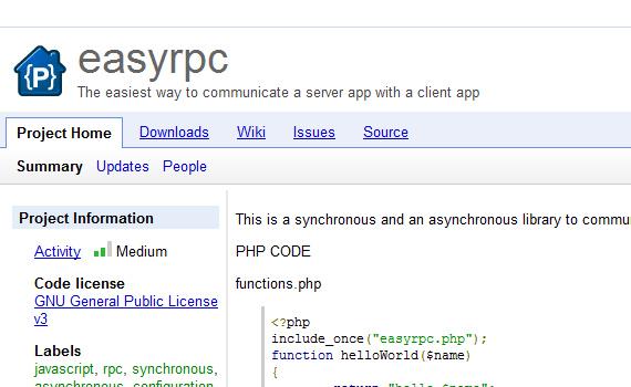 Easyrpc-jquery-navigation-menu-plugins