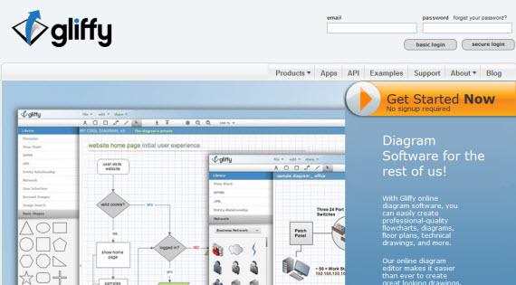 Gliffy-free-premium-wireframing-webdesign-tools