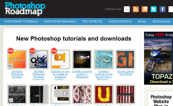 Photoshop-roadmap-sites-submit-web-design-tutorials