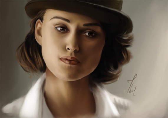 Keira Knightley by thubakabra