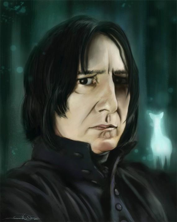 Serverus Snape by artsymptom