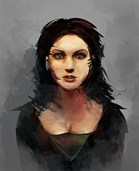 Inkscape Portrait by firefly-wp