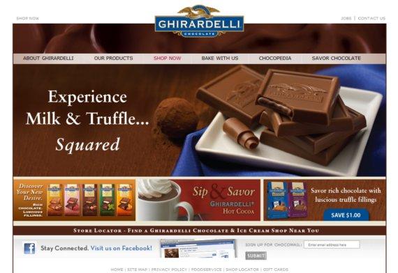 Ghirardelli-15-Eye-Catching-Food-Beverage-Ecommerce-Website-Designs