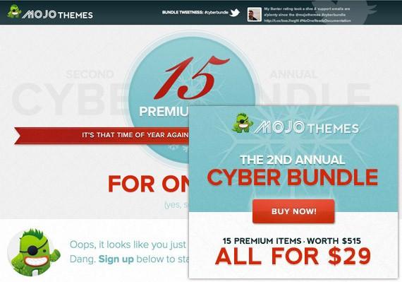 Mojo Themes Cyber Bundle 2011