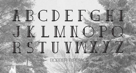 Bobber free fonts 2015