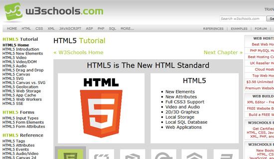 W3schools-html5-tutorials