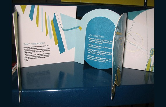 Bina brochure design