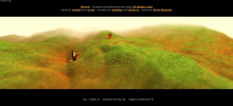 WebGL-Terrain