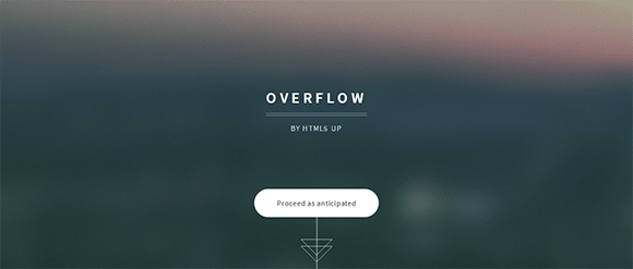 free responive web template html css Overflow
