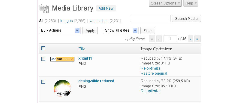 Reduce file sizes for images with EWWW Image Optimizer